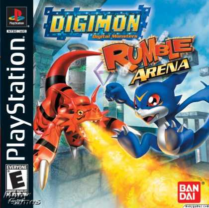 PlayStation Games - Digimon Rumble Arena