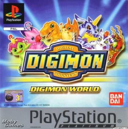 PlayStation Games - Digimon World