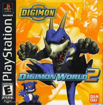 PlayStation Games - Digimon World 2