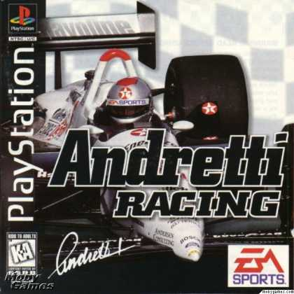 PlayStation Games - Andretti Racing