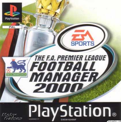 PlayStation Games - The F.A. Premier League Football Manager 2000