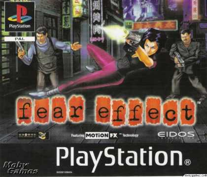 PlayStation Games - Fear Effect