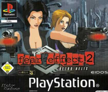 PlayStation Games - Fear Effect 2: Retro Helix