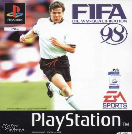 PlayStation Games - FIFA 98: Road to World Cup