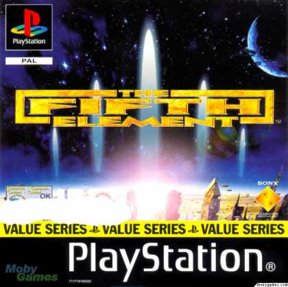 PlayStation Games - The Fifth Element