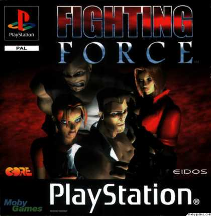 PlayStation Games - Fighting Force
