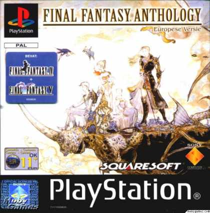 PlayStation Games - Final Fantasy Anthology (European Edition)