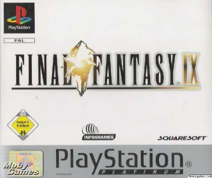 PlayStation Games - Final Fantasy IX