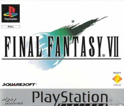 PlayStation Games - Final Fantasy VII