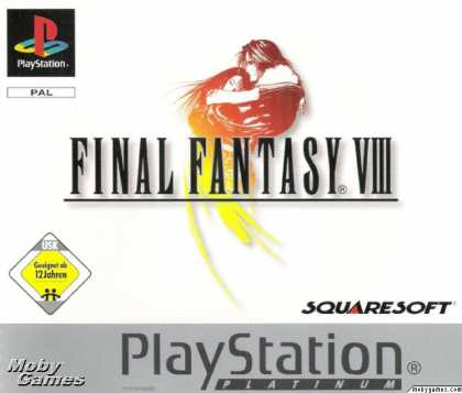 PlayStation Games - Final Fantasy VIII