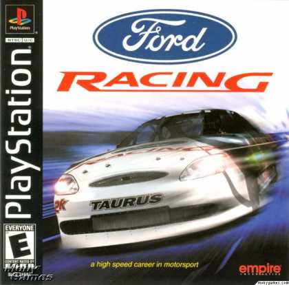 PlayStation Games - Ford Racing