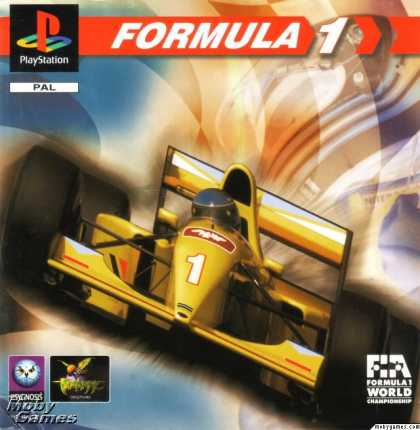 PlayStation Games - Formula 1