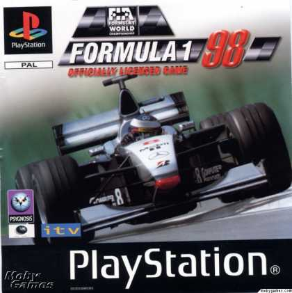 PlayStation Games - Formula 1 '98