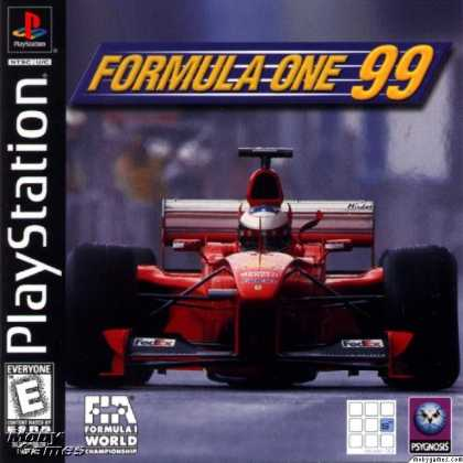 PlayStation Games - Formula One 99