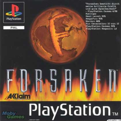PlayStation Games - Forsaken