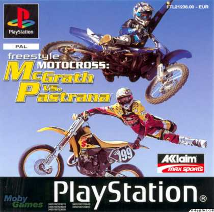 PlayStation Games - Freestyle Motocross: McGrath vs Pastrana