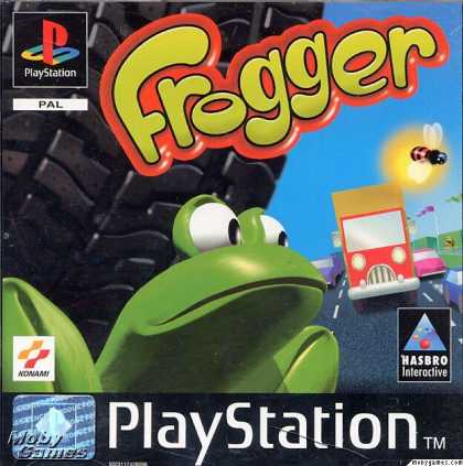 PlayStation Games - Frogger