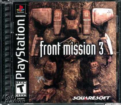 PlayStation Games - Front Mission 3
