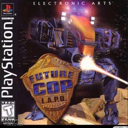 PlayStation Games - Future Cop LAPD