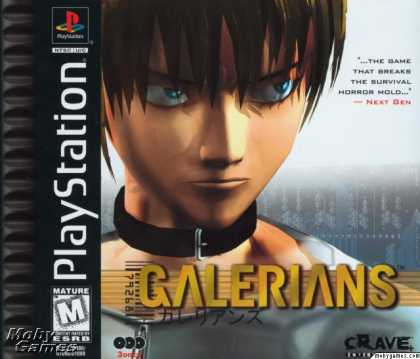 PlayStation Games - Galerians