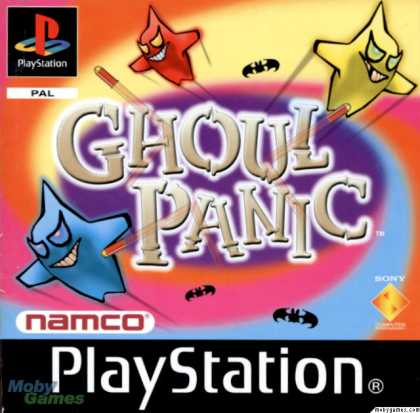 PlayStation Games - Ghoul Panic