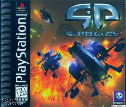 PlayStation Games - G-Police