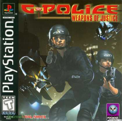 PlayStation Games - G-Police: Weapons of Justice