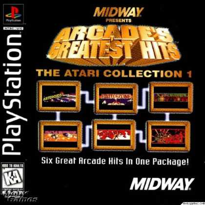 PlayStation Games - Arcade's Greatest Hits: The Atari Collection 1