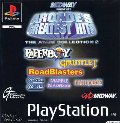 PlayStation Games - Arcade's Greatest Hits: The Atari Collection 2