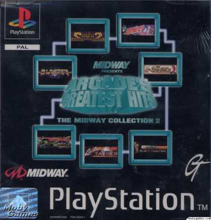 PlayStation Games - Arcade's Greatest Hits: The Midway Collection 2