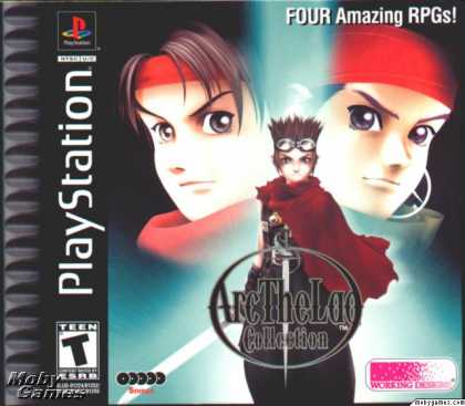 PlayStation Games - Arc the Lad Collection
