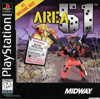 PlayStation Games - Area 51
