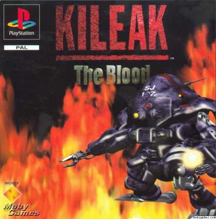 PlayStation Games - Kileak: The DNA Imperative