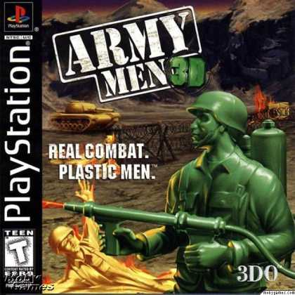 PlayStation Games - Army Men 3D