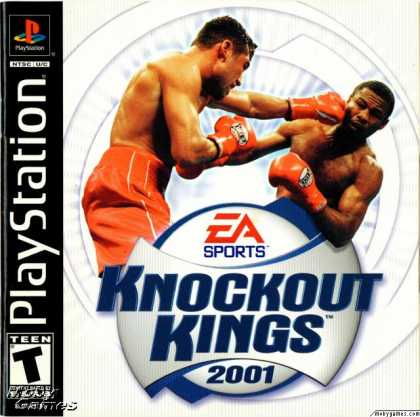 PlayStation Games - Knockout Kings 2001