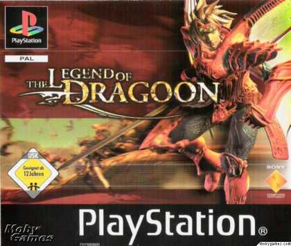 PlayStation Games - The Legend of Dragoon