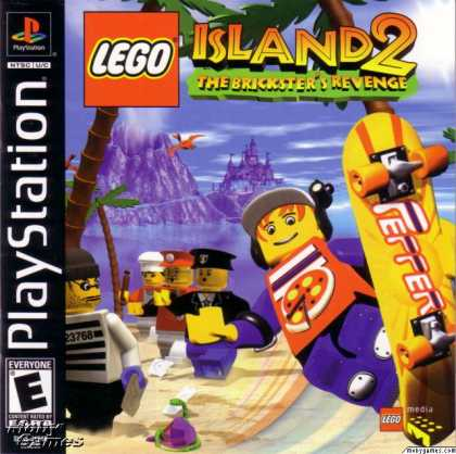 PlayStation Games - LEGO Island 2: The Brickster's Revenge