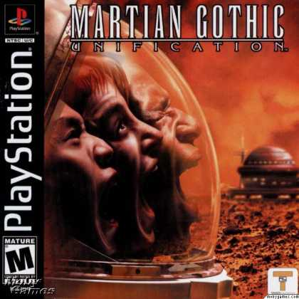PlayStation Games - Martian Gothic: Unification