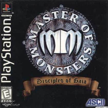 PlayStation Games - Master of Monsters: Disciples of Gaia