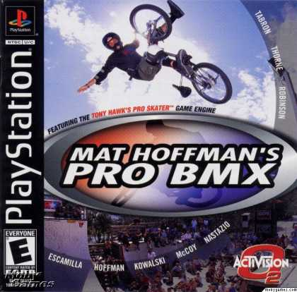 PlayStation Games - Mat Hoffman's Pro BMX