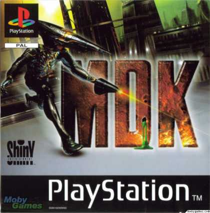 PlayStation Games - MDK
