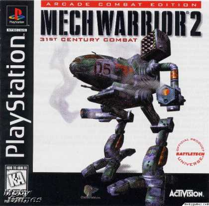 PlayStation Games - MechWarrior 2: 31st Century Combat