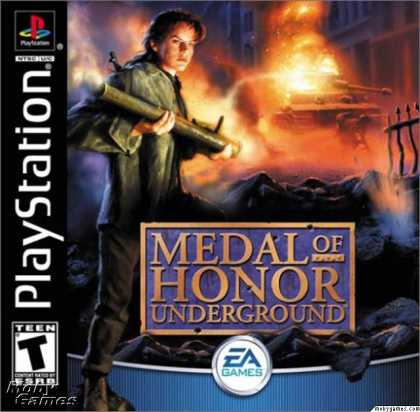 PlayStation Games - Medal of Honor: Underground