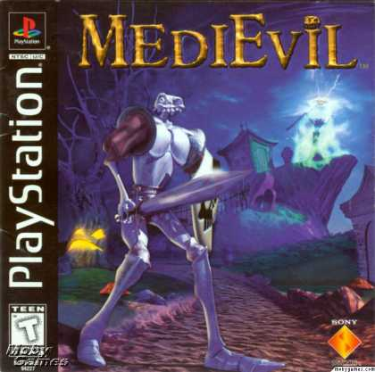 PlayStation Games - MediEvil