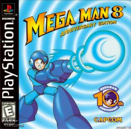 PlayStation Games - Mega Man 8: Anniversary Edition