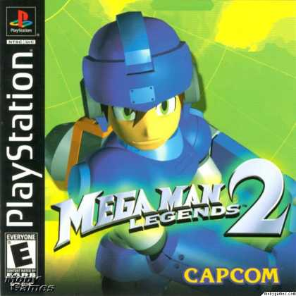PlayStation Games - Mega Man Legends 2