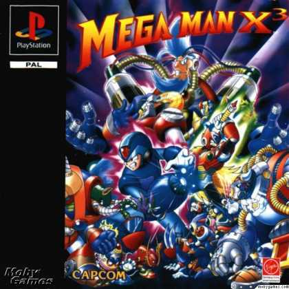PlayStation Games - Mega Man X3