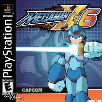 PlayStation Games - Mega Man X6