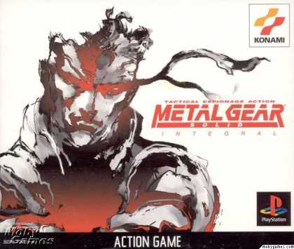 PlayStation Games - Metal Gear Solid Integral