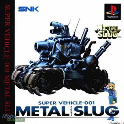 PlayStation Games - Metal Slug: Super Vehicle - 001